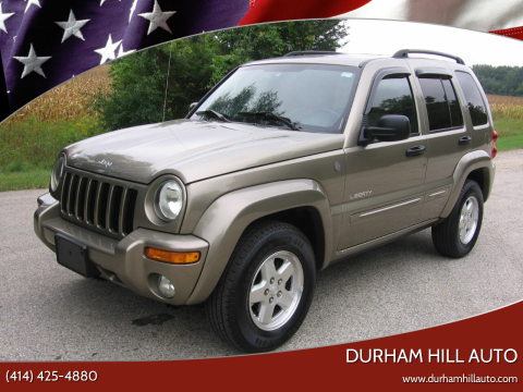 2004 Jeep Liberty for sale at Durham Hill Auto in Muskego WI