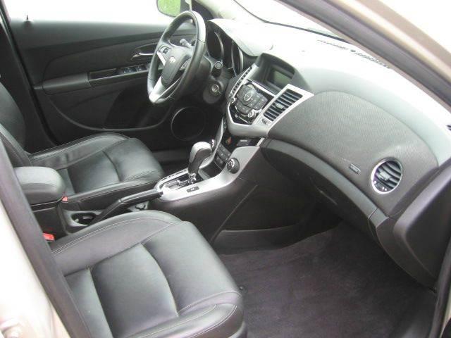 2012 Chevrolet Cruze LT 4dr Sedan w/2LT - Muskego WI