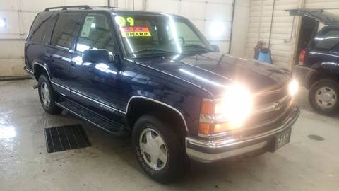 Used 1999 Chevrolet Tahoe For Sale  Carsforsalecom
