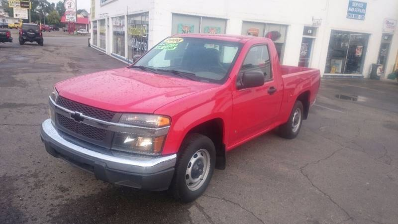 2006 Chevrolet Colorado Work Truck 2dr Regular Cab SB - Lapeer MI