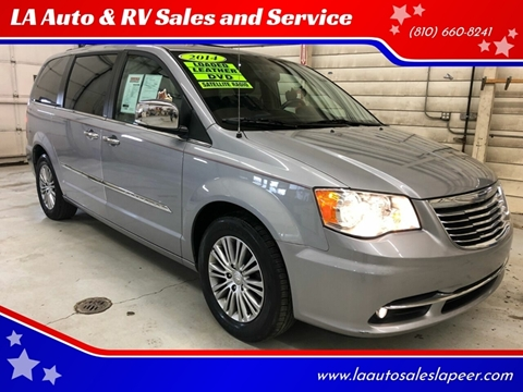 2014 Chrysler Town and Country for sale at LA Auto & RV Sales and Service in Lapeer MI