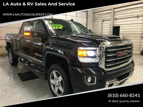 2017 GMC Sierra 2500HD for sale in Lapeer, MI