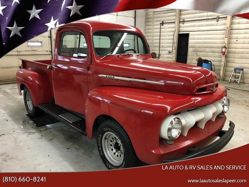 1953 Ford F-100 for sale at LA Auto & RV Sales and Service in Lapeer MI