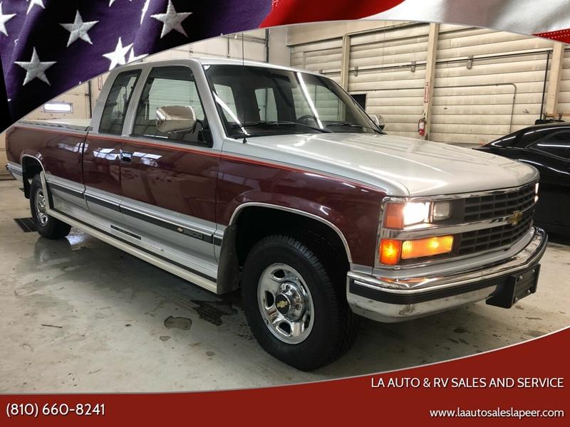 1989 Chevrolet C/K 3500 Series for sale at LA Auto & RV Sales and Service in Lapeer MI