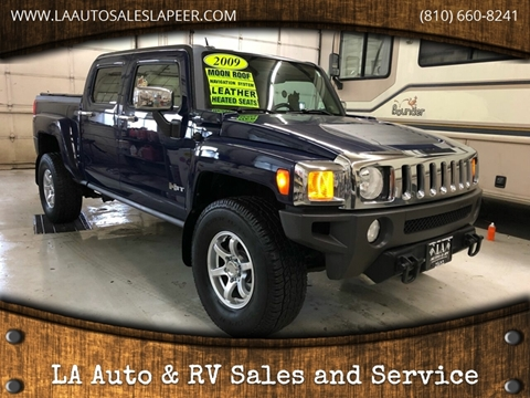 2009 HUMMER H3T for sale in Lapeer, MI