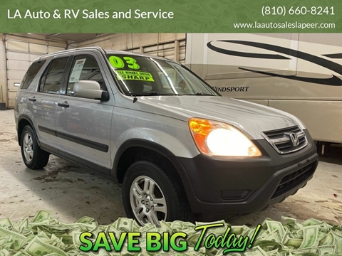 2003 Honda CR-V for sale in Lapeer, MI