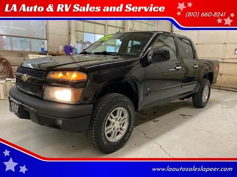 2009 Chevrolet Colorado for sale at LA Auto & RV Sales and Service in Lapeer MI
