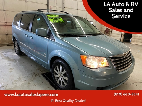 2009 Chrysler Town and Country for sale at LA Auto & RV Sales and Service in Lapeer MI