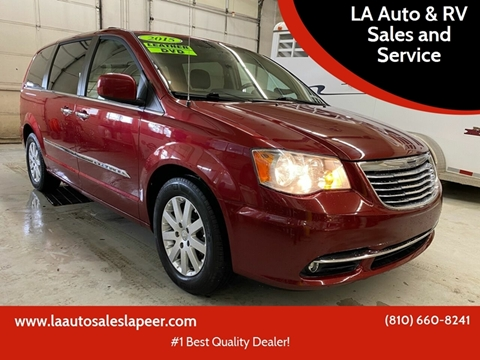 2015 Chrysler Town and Country for sale at LA Auto & RV Sales and Service in Lapeer MI