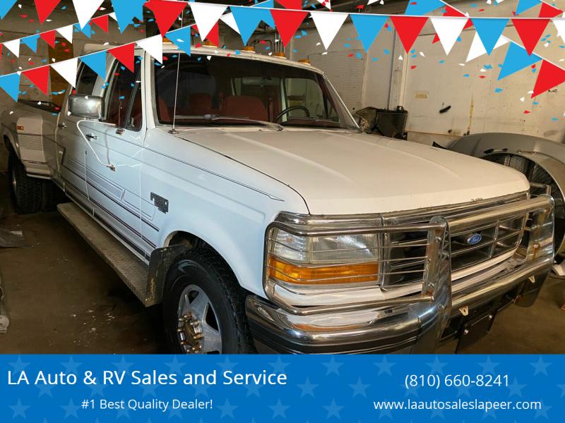 1993 Ford F-350 for sale at LA Auto & RV Sales and Service in Lapeer MI