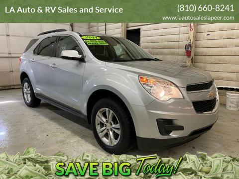 2014 Chevrolet Equinox for sale at LA Auto & RV Sales and Service in Lapeer MI