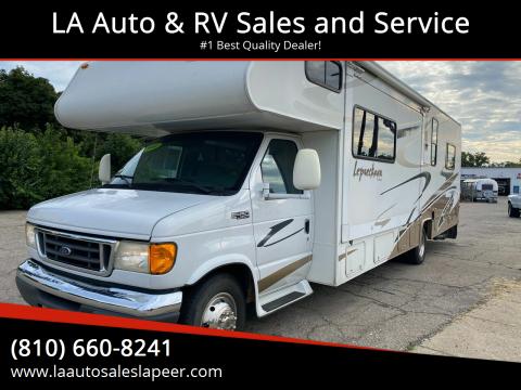2006 Coachmen Leprechaun for sale at LA Auto & RV Sales and Service in Lapeer MI