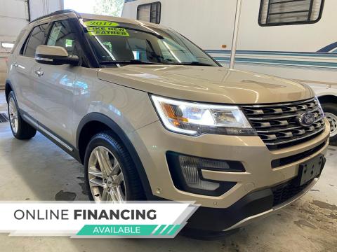 2017 Ford Explorer for sale at LA Auto & RV Sales and Service in Lapeer MI