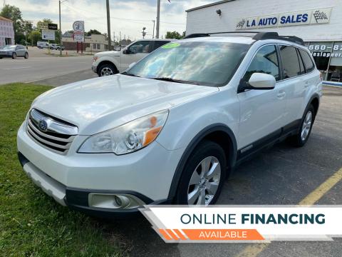 2012 Subaru Outback for sale at LA Auto & RV Sales and Service in Lapeer MI