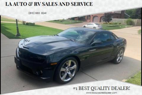 2012 Chevrolet Camaro for sale at LA Auto & RV Sales and Service in Lapeer MI