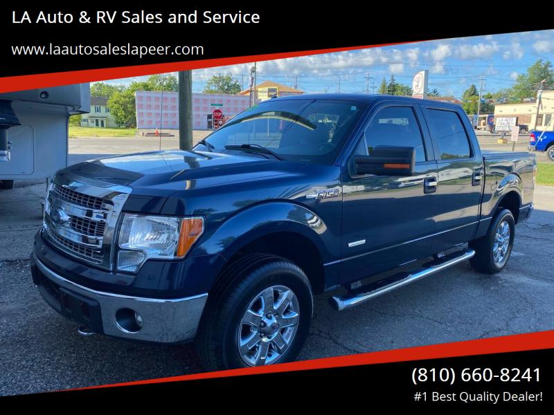 2014 Ford F-150 for sale at LA Auto & RV Sales and Service in Lapeer MI