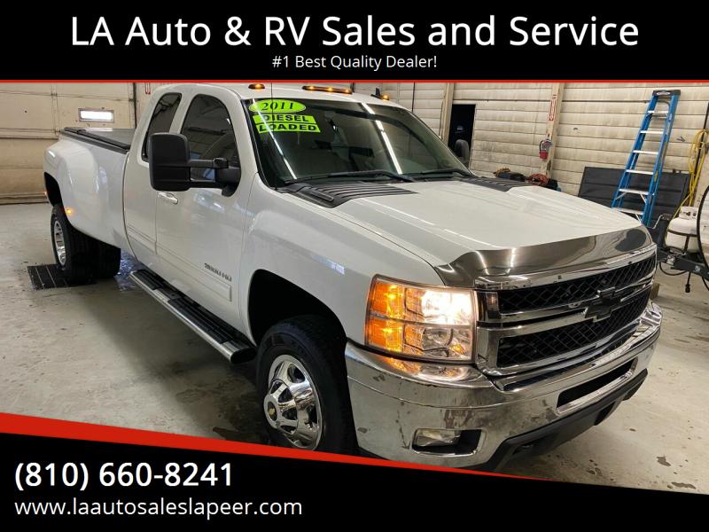 2011 Chevrolet Silverado 3500HD for sale at LA Auto & RV Sales and Service in Lapeer MI