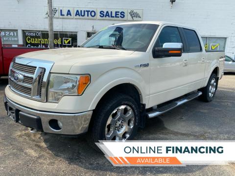2009 Ford F-150 for sale at LA Auto & RV Sales and Service in Lapeer MI