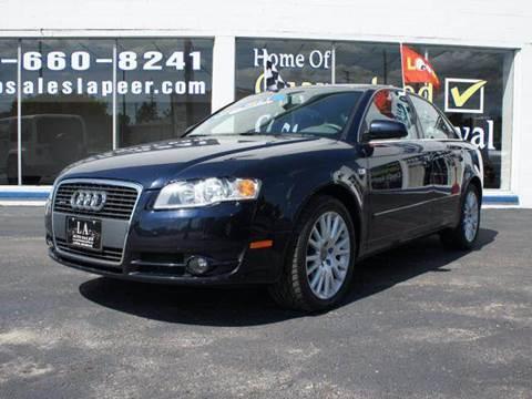 2006 Audi A4 for sale at LA Auto & RV Sales and Service in Lapeer MI