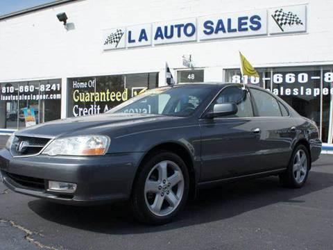 2003 Acura TL for sale at LA Auto & RV Sales and Service in Lapeer MI