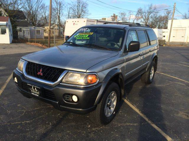 2000 Mitsubishi Montero Sport for sale at LA Auto & RV Sales and Service in Lapeer MI