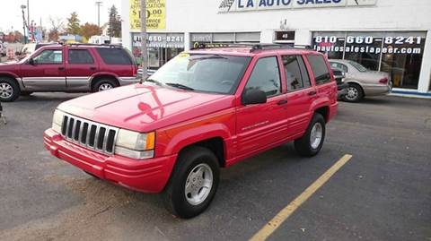 used 1998 jeep grand cherokee for sale in michigan. Black Bedroom Furniture Sets. Home Design Ideas