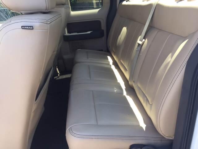 2012 Ford F-150 4x4 Lariat 4dr SuperCab Styleside 6.5 ft. SB - West Palm Beach FL
