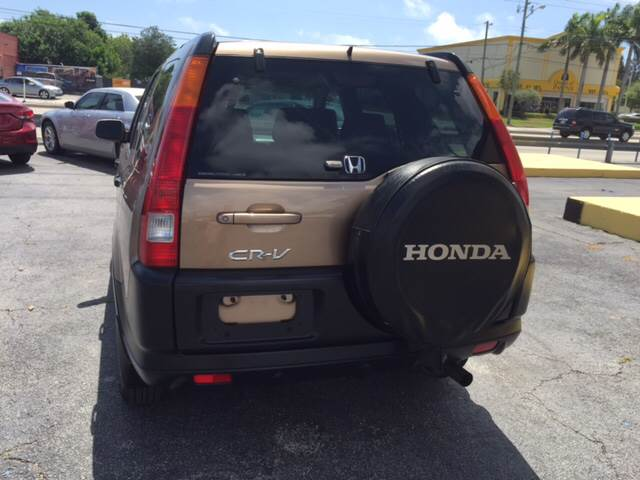 2002 Honda CR-V AWD EX 4dr SUV - West Palm Beach FL