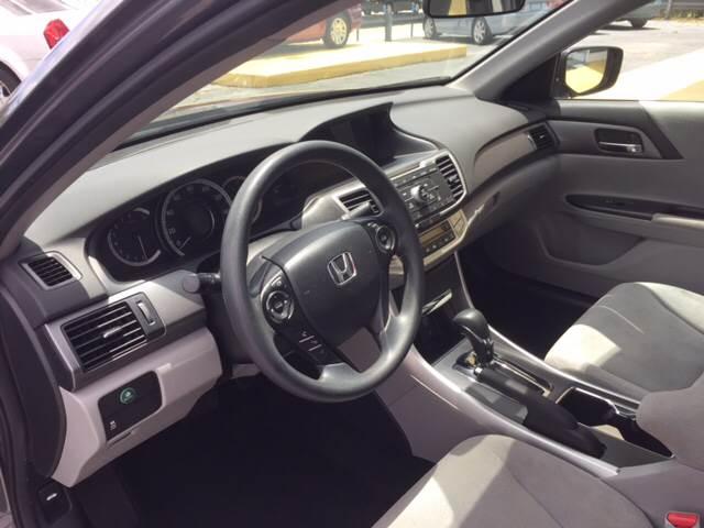 2013 Honda Accord LX 4dr Sedan CVT - West Palm Beach FL