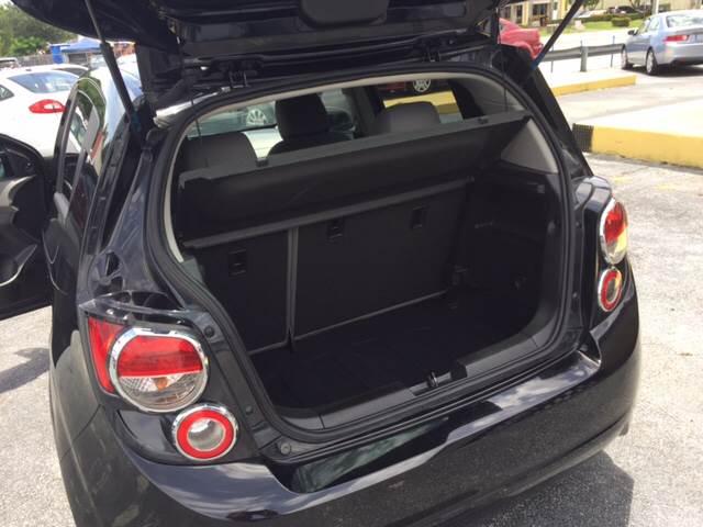 2012 Chevrolet Sonic LS 4dr Hatchback w/2LS - West Palm Beach FL