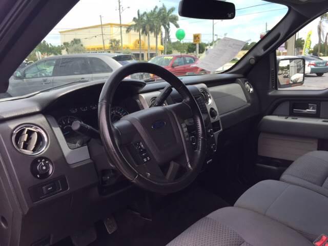 2013 Ford F-150 4x4 XLT 4dr SuperCrew Styleside 5.5 ft. SB - West Palm Beach FL