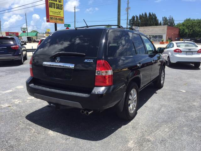 2003 Acura MDX AWD Touring 4dr SUV w/Entertainment System - West Palm Beach FL