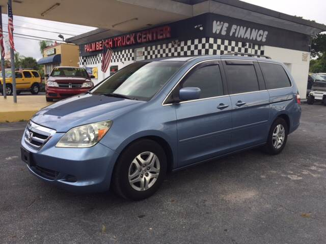 2007 Honda Odyssey EX-L 4dr Mini-Van - West Palm Beach FL