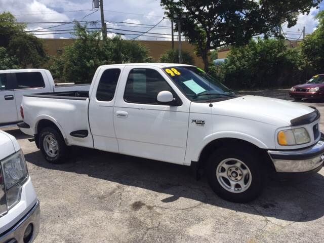 1998 Ford F-150 3dr Lariat Extended Cab Stepside SB - West Palm Beach FL