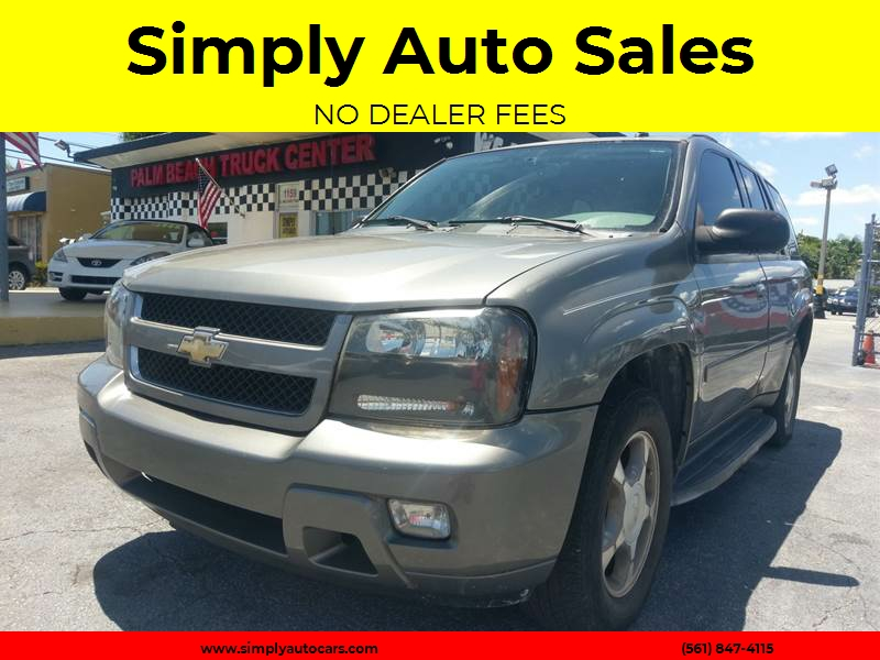 2008 Chevrolet TrailBlazer 4x2 LT1 4dr SUV   West Palm Beach FL