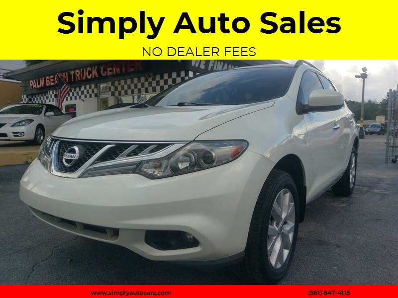 2011 Nissan Murano SL 4dr SUV   West Palm Beach FL