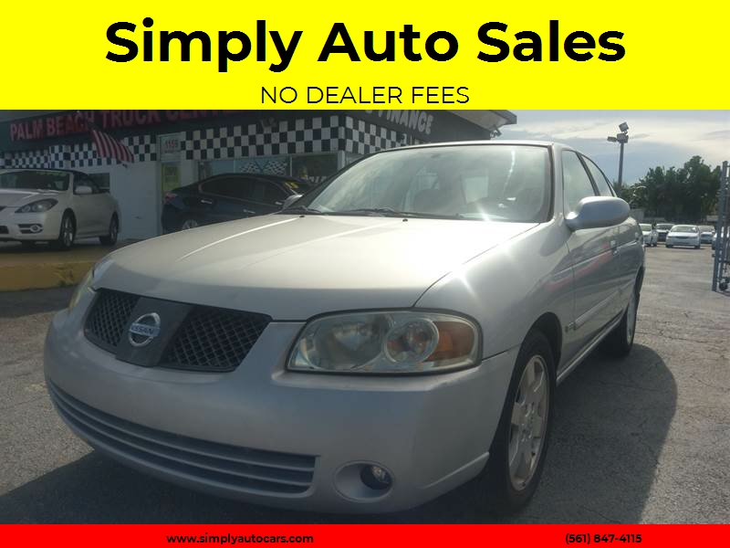 2005 Nissan Sentra 1.8 S 4dr Sedan   West Palm Beach FL