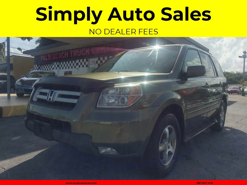 Amazing 2007 Honda Pilot EX L 4dr SUV   West Palm Beach FL