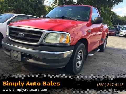 2003 Ford F-150 for sale in West Palm Beach, FL