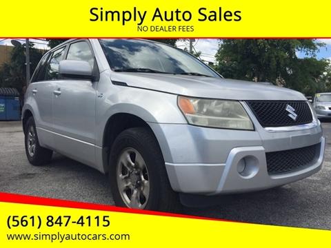 2008 Suzuki Grand Vitara for sale in West Palm Beach, FL