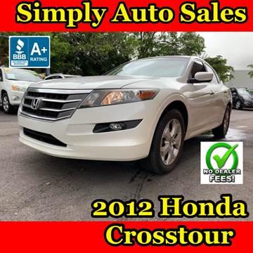 2012 Honda Crosstour for sale in Palm Beach Gardens, FL