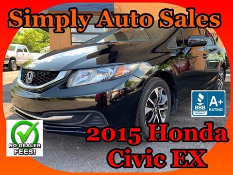 2015 Honda Civic for sale in Palm Beach Gardens, FL