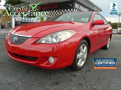 2006 Toyota Camry Solara for sale in West Palm Beach, FL