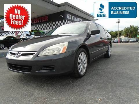 2006 Honda Accord for sale in West Palm Beach, FL