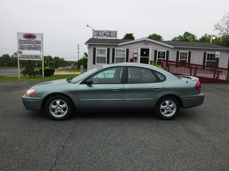 2007 Ford Taurus for sale at Shepherd Auto Sales in Joppa MD