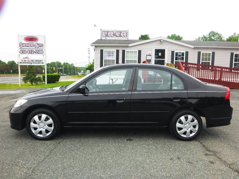 2004 Honda Civic for sale at Shepherd Auto Sales in Joppa MD
