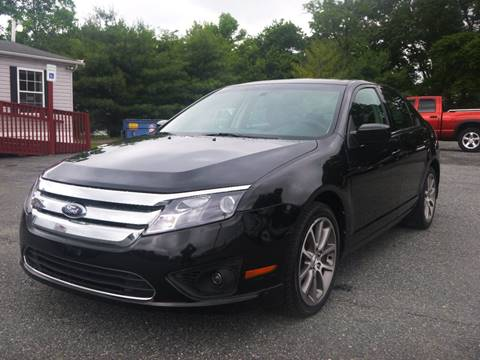 2010 Ford Fusion for sale at Shepherd Auto Sales in Joppa MD