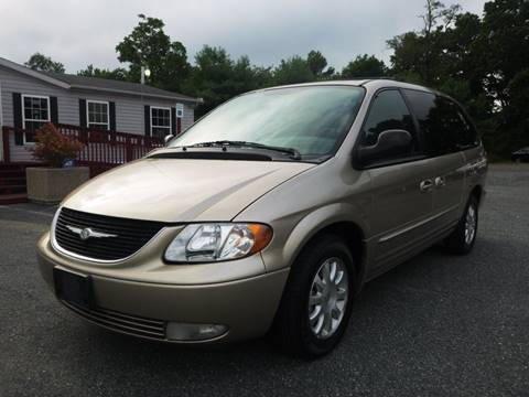2003 Chrysler Town and Country for sale at Shepherd Auto Sales in Joppa MD