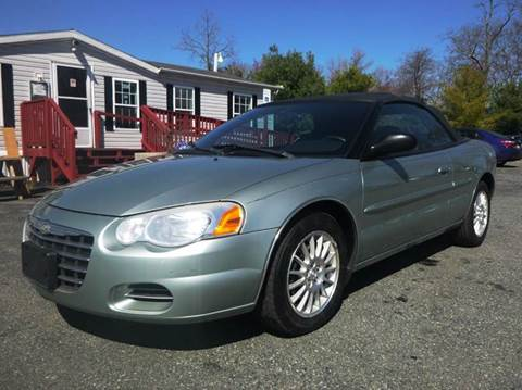 2004 Chrysler Sebring for sale at Shepherd Auto Sales in Joppa MD