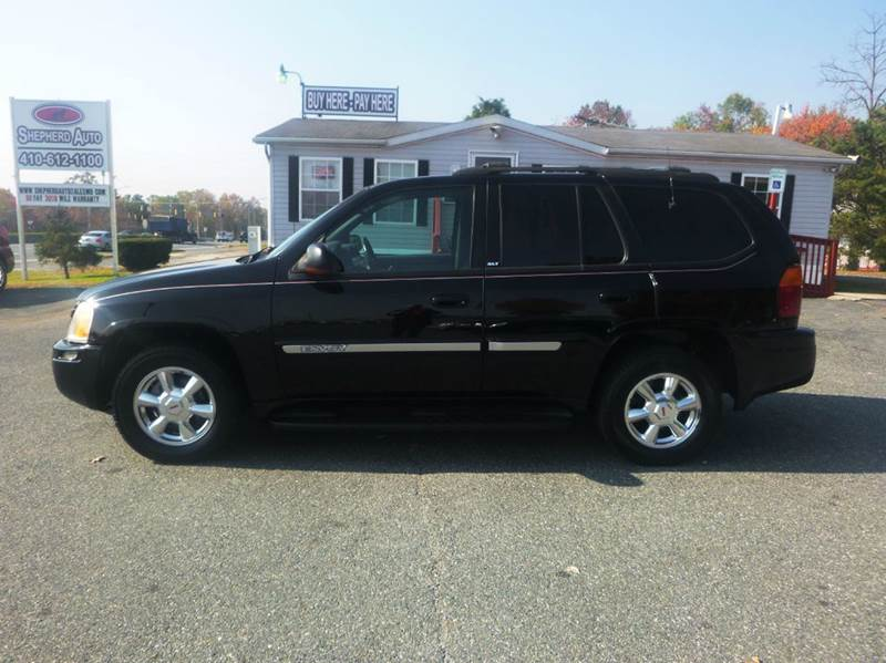 2003 GMC Envoy for sale at Shepherd Auto Sales in Joppa MD